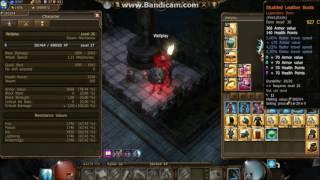 Download DrakenSang Online [Crafting Black Warlord Set + Old Stats] Dwarf low lvl Video