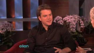 Download Matt Damon Finally Visits Ellen! Video