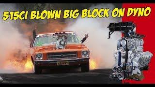 Download KRANK IT UP! 1483hp Big Block Simulates Burnout On Dyno Video