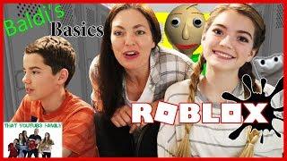 Download BALDi'S BASiCS Roblox Gameplay / That YouTub3 Family Video