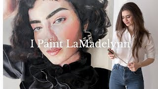 Download LaMadelynn | Selfie Portrait Ep. 1 - Oil Painting Timelapse | Dearly Bethany Video
