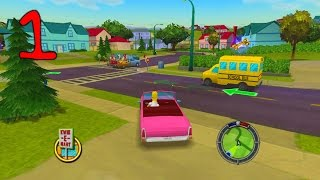 Download Jahova Plays The Simpsons Hit & Run Episode 1! (Easy Tutorial Level) Video