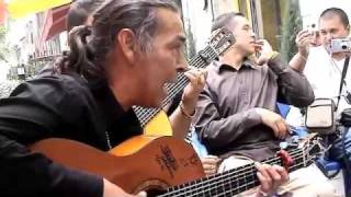 Download Gypsy Kings.Canut (François Reyes) Singing for his just baptised grand daughter Video