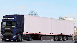 ETS 2 1 27 ProMods 2 17 Scania R580 Tampere - Vyborg Free