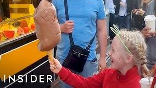 Download Turkish Ice Cream Vendors Prank Customers Video