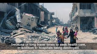 Download WHO: Field hospitals in Iraq Video