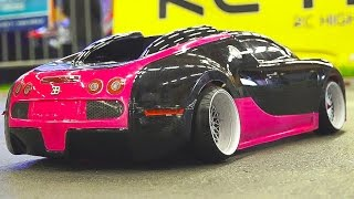 Download MEGA RC DRIFT CAR RACE MODEL SHOW!! RC BUGATTI VEYRON*RC BMW*RC TOYOTA*RC HONDA Video