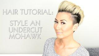 Download HAIR TUTORIAL: STYLE AN UNDERCUT FAUX HAWK (RIHANNA MILEY CYRUS) Video