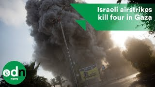 Download Israeli airstrikes kill four in Gaza Video