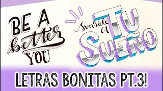Download ¿Cómo hacer letras bonitas? PARTE 3!! ✄ Barbs Arenas Art! Video