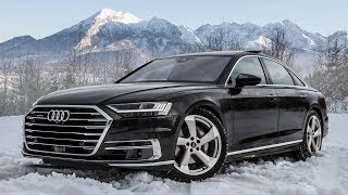 Download PLAYING IN SNOW - The new 2018/19 AUDI A8 50 TDI QUATTRO (+ interior details) Video