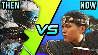 Download For Honor - Then Vs Now - Evolution Of For Honor Season 1 To Marching Fire | The Leaderboard Video