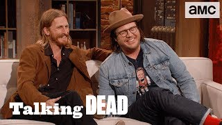 Download 'How Does Negan Have a Clean White T-shirt in the Apocalypse?' Ep. 807 Fan Questions | Talking Dead Video