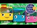 Download Las ruedas del autobús | 2ª Recopilación | Más de 2 horas de canciones infantiles | LittleBabyBum! Video