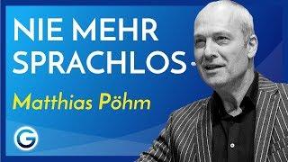 Download Schlagfertig: So konterst du immer mit Erfolg // Matthias Pöhm Video