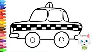 Download Cara menggambar taksi dengan MiMi - Cara Menggambar dan Mewarnai TV Anak Video
