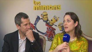 Download Guillaume Canet et Marion Cotillard très taquins face à Nikos Aliagas Video