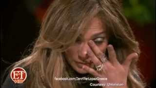 Download Jennifer Lopez & Marc Anthony Share Tears on Q'Viva! Video