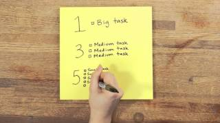 Download 5 Smarter Ways to Organize Your To-Do List Video