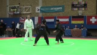 Download Pencak Silat - Indonesia VS Malaysia - Belgium Open 2013 - Highlights Video