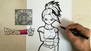Download COMO DIBUJAR A KALE - DRAGON BALL SUPER / how to draw kale - dragon ball super Video