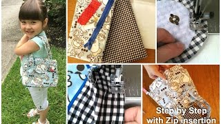 Download How to sew a handbag - Step by step Tutorial (Mary Lou Pattern) Video