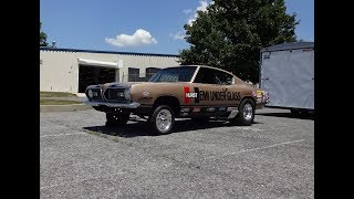 Download 1969 Plymouth Barracuda Hemi Under Glass & Engine Sound & Wheelie My Car Story with Lou Costabile Video