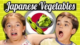 Download KIDS EAT JAPANESE VEGETABLES! | Kids Vs. Food Video