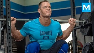 Download John Cena Training for WWE | Muscle Madness Video