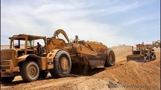 Download CATERPILLAR 660B Scrapers still at it Video