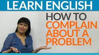 Download Real English - How to complain about a problem Video