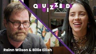 Download Billie Eilish Takes 'The Office' Quiz With Rainn Wilson | Billboard Video