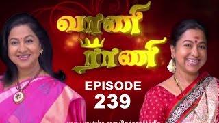Download Vaani Rani - Episode 239, 26/12/13 Video