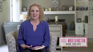 Download Alli Worthington on Fierce Faith Video