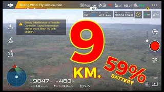 Download DJI MAVIC PRO @ 9 KM. RANGE RECORD Video