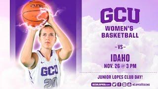 Download Women's Basketball vs Idaho Nov 26th, 2016 Video