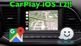 Download Apple CarPlay FINALLY Adds Google Maps & Waze (!) + iOS 12 Updates Video