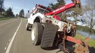 Download Ford 4x4 easy winch out and Broke down Wrecker Video