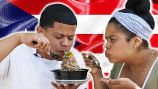 Download Latinos Try A Puerto Rican Food Truck Video
