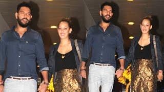 Download Yuvraj Singh With CUTE Wife Hazel Keech On Late Night Dinner Date Video