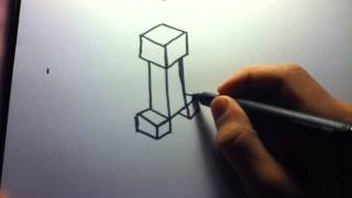 Download How to Draw: Minecraft Creeper Video