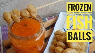 Download Frozen Fish balls | How to make Fish balls | Fish ball with Sweet and Sour Sauce (Fish recipe) Video