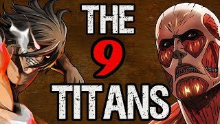 Download All Nine Titans & Their Shifters - Attack on Titan Discussion Video