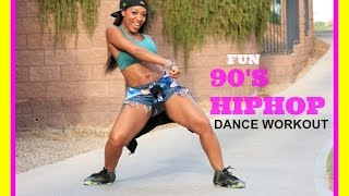 Download FUN HipHop Dance workout (90's) with Keaira LaShae Video