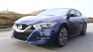 Download 2016 Nissan Maxima, the 4-door sports car - with a straight face? (On Cars, Episode 83) Video