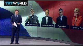 Download Four Candidates for French Presidential Election Video