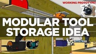 Download Prototyping a Modular Tool Storage Idea Video