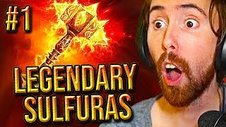 Download Asmongold SERVER FIRST Legendary SULFURAS Hand of Ragnaros In Classic WoW Video