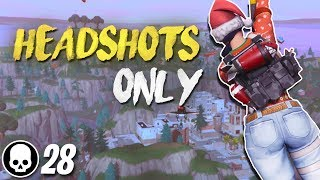 Download 8 HUNTING RIFLE HEADSHOTS IN A ROW! Final Fight LTM Gameplay (Fortnite Battle Royale) Video