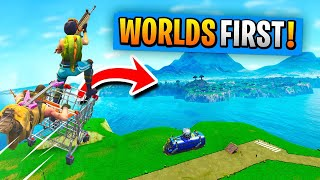 Download WORLD'S 1st SPAWN ISLAND AND *BACK* TRIP In Fortnite Battle Royale! Video